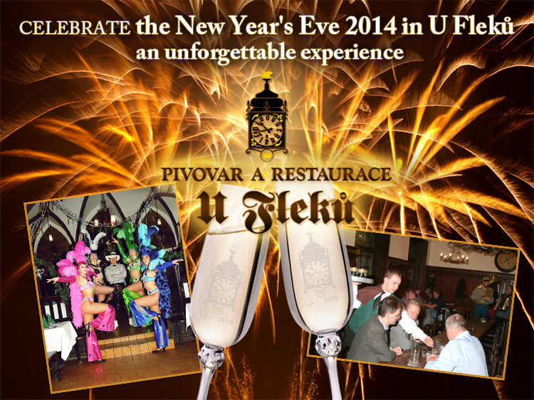 New Year's Eve U Fleků 2014